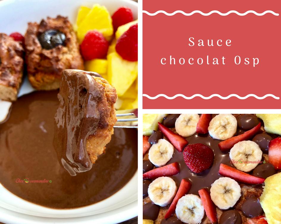 Sauce chocolat 0 sp
