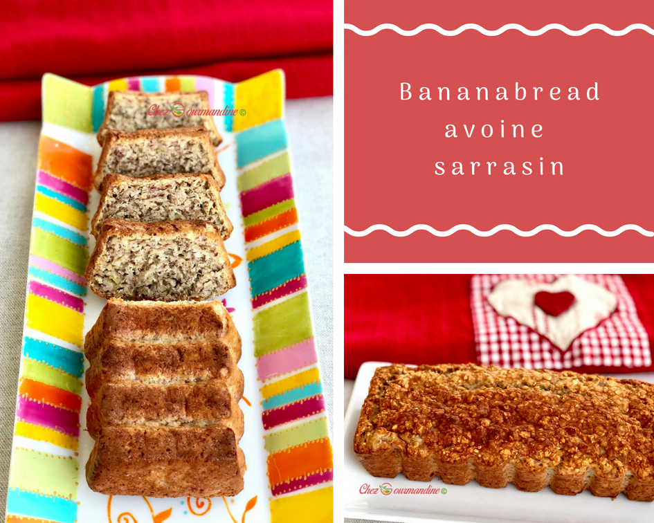 Bananabread avoine sarrasin