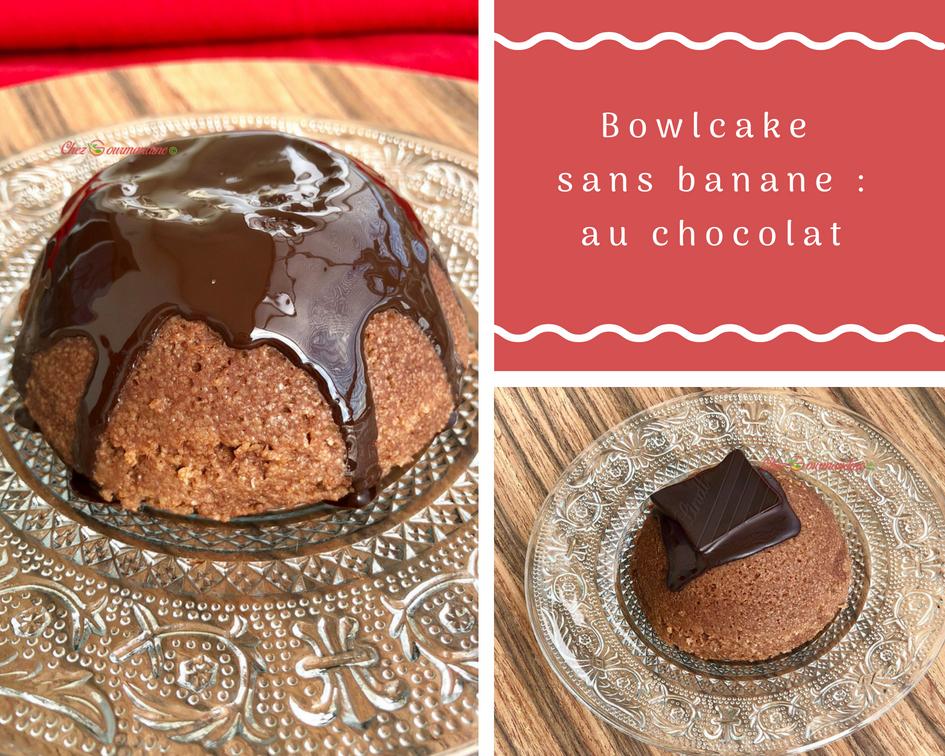 Bowlcake chocolat