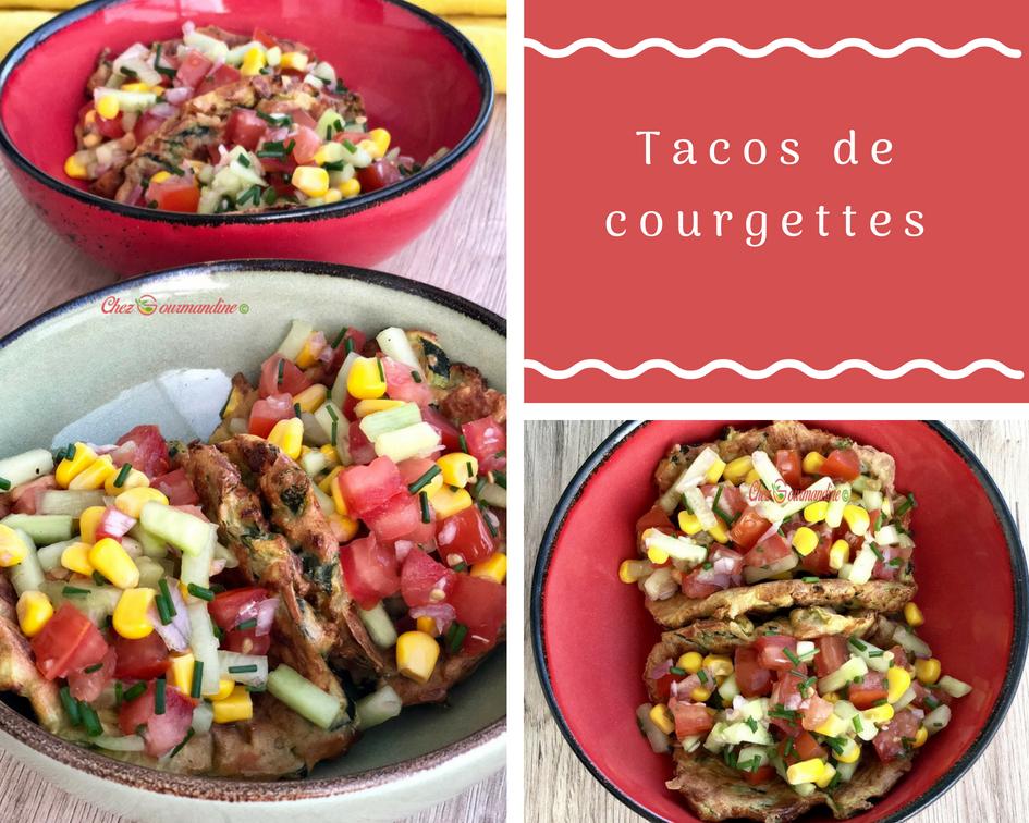 Tacos de courgettes