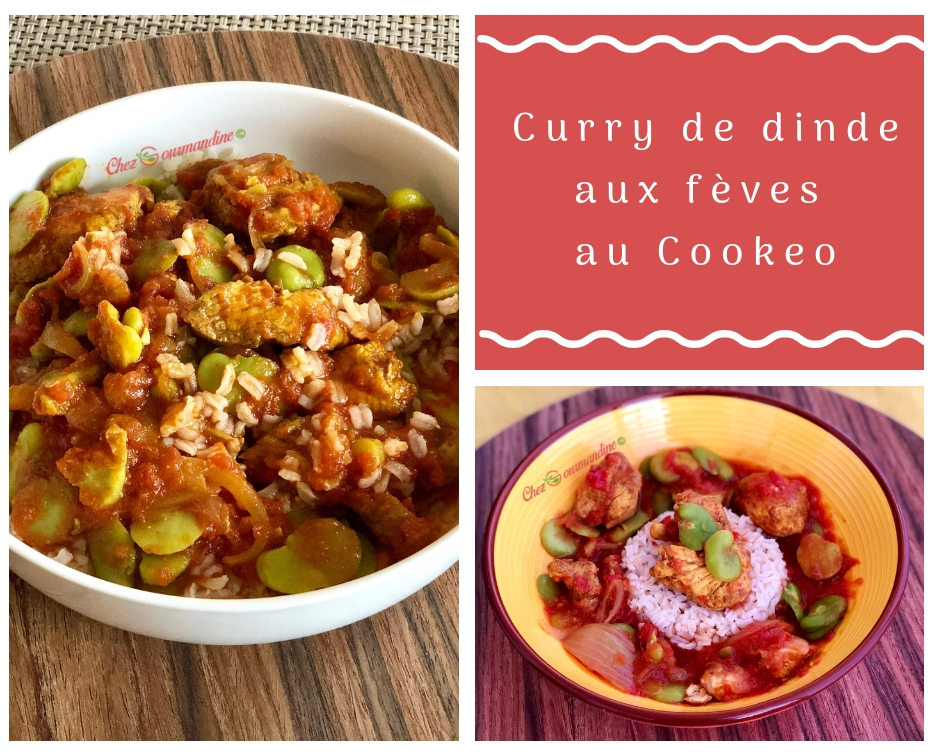 Curry de dinde aux fèves