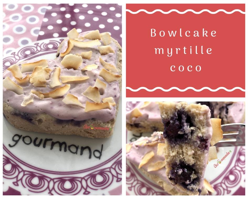 Bowlcake myrtille coco
