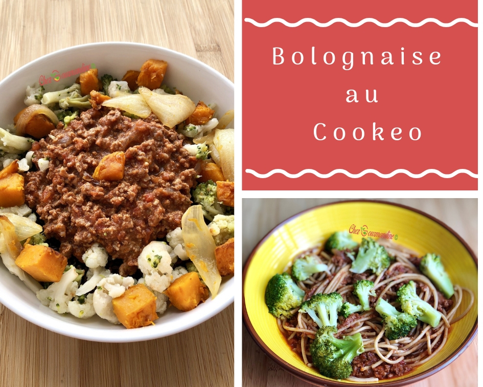 Bolognaise au Cookeo