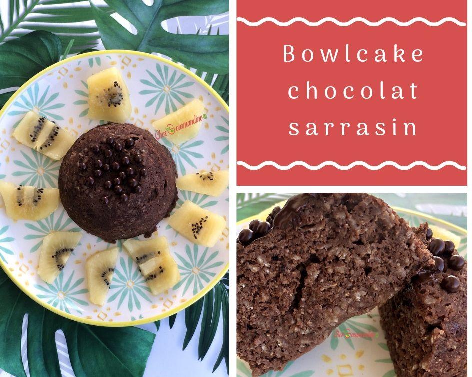 Bowlcake chocolat sarrasin