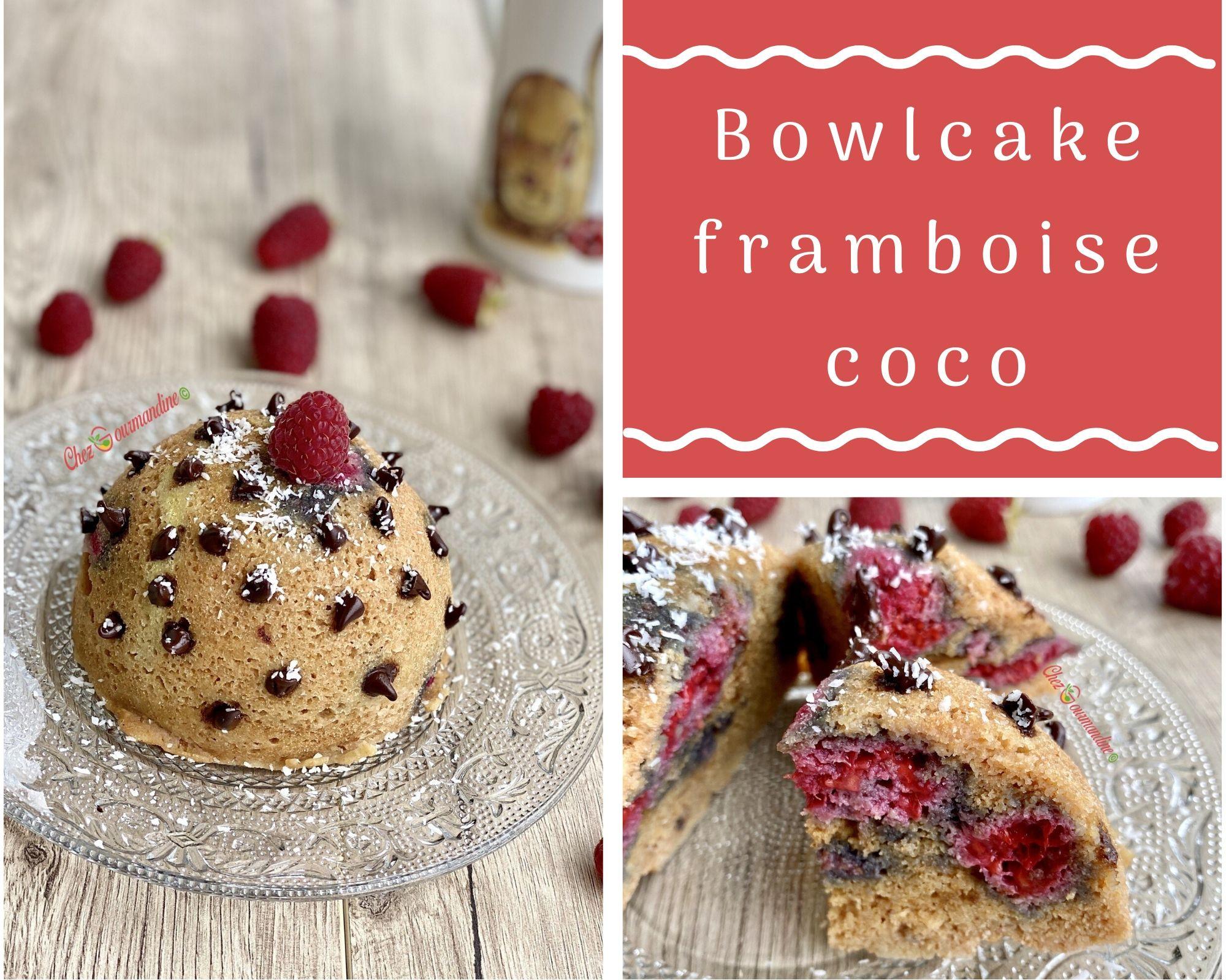 Bowlcake framboise coco