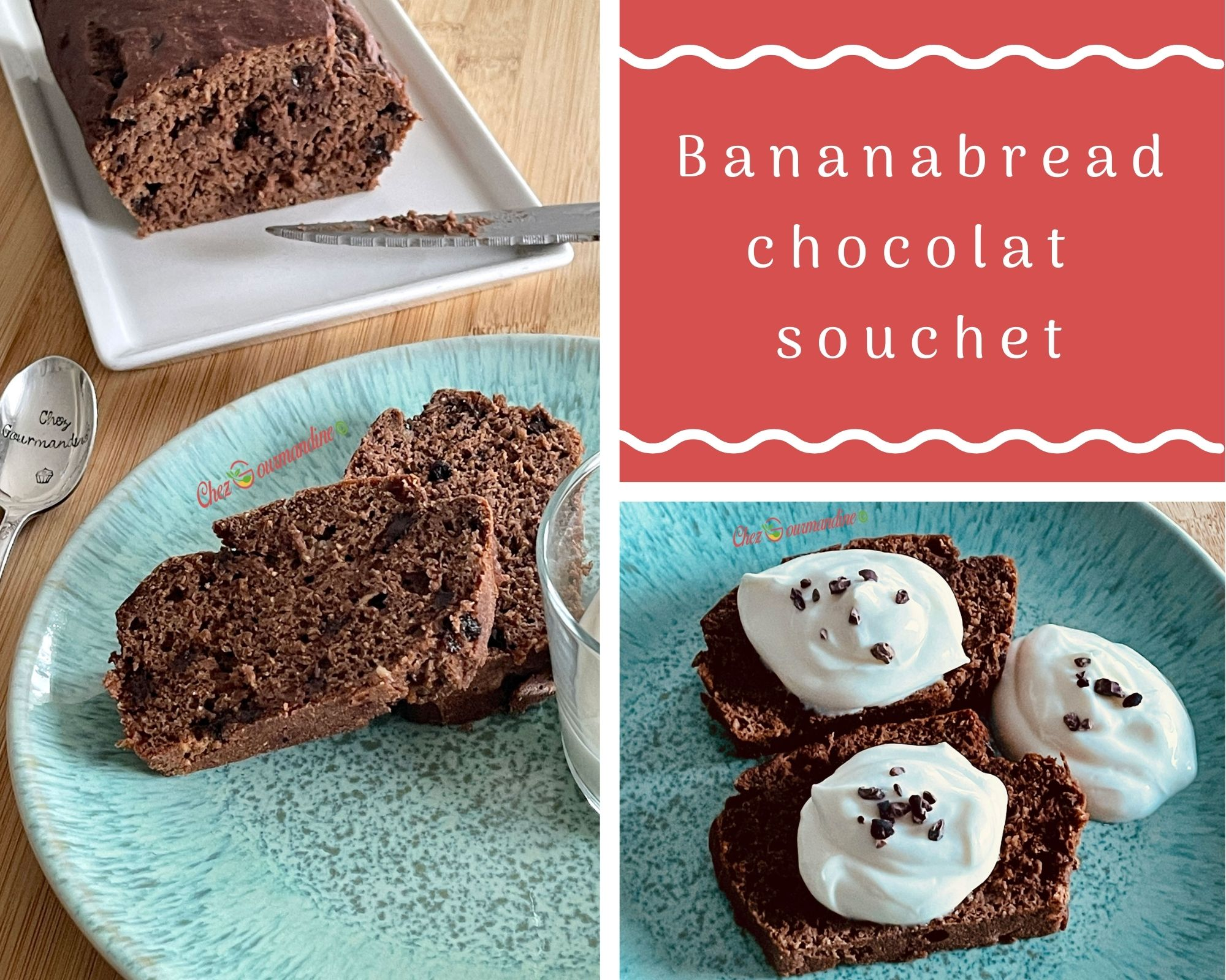 Bananabread chocolat souchet
