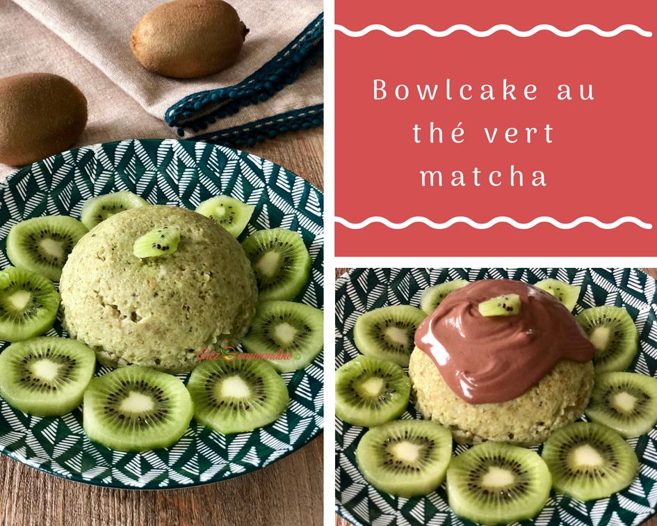 Bowlcake au thé vert matcha