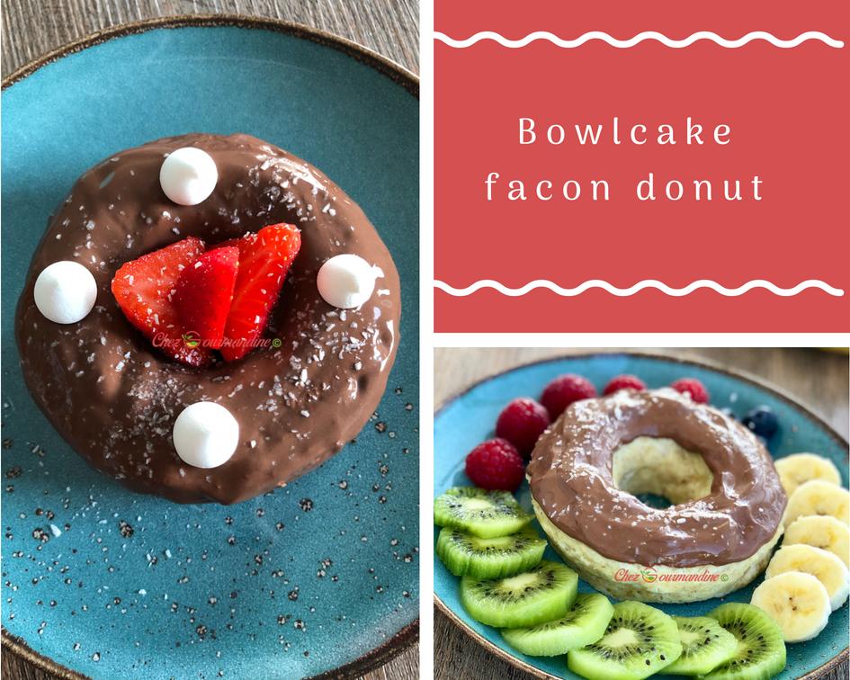 Bowlcake façon donut
