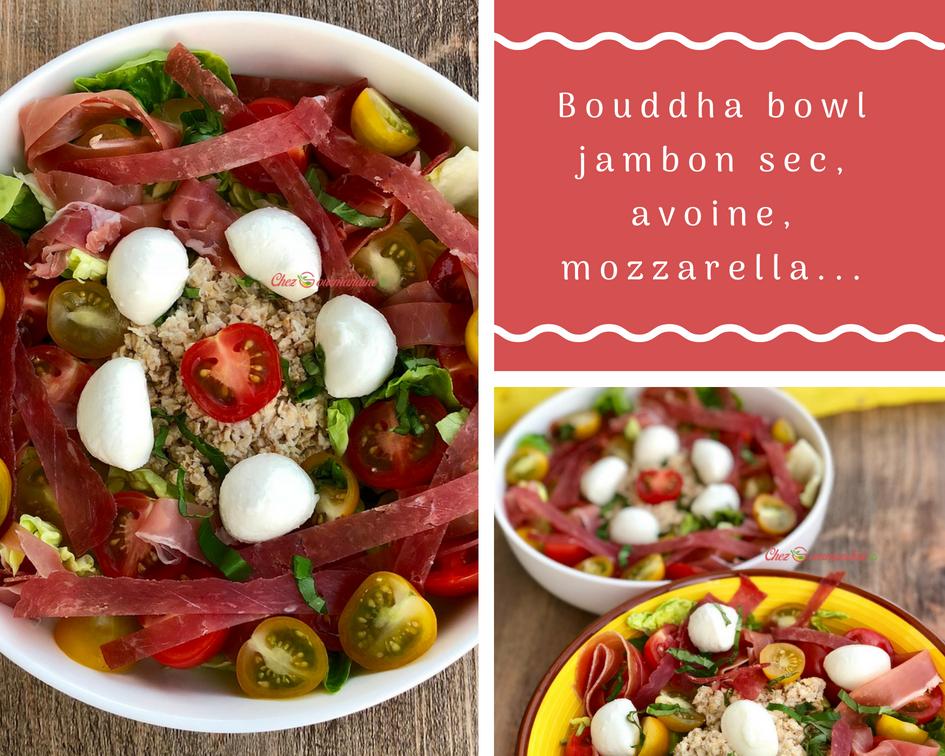 Bouddha bowl jambon sec