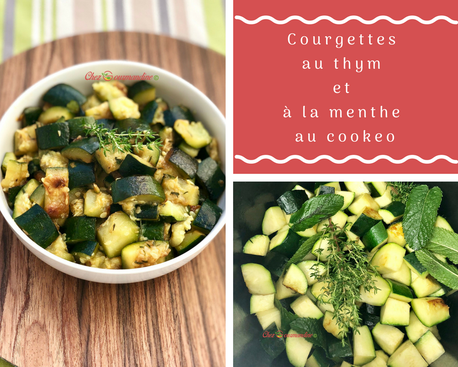 Courgettes menthe