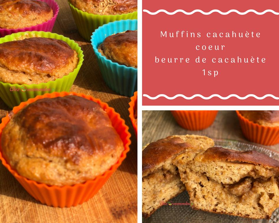 muffins cacahuète