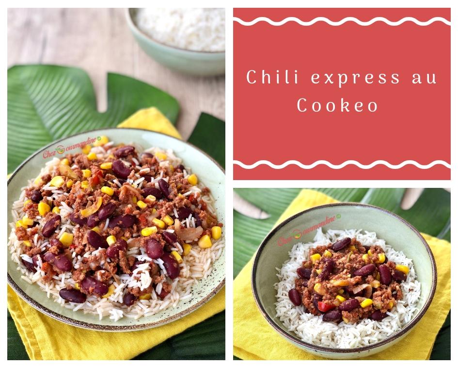 Chili express au Cookeo
