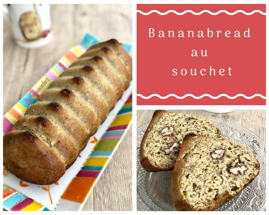 Bananabread au souchet