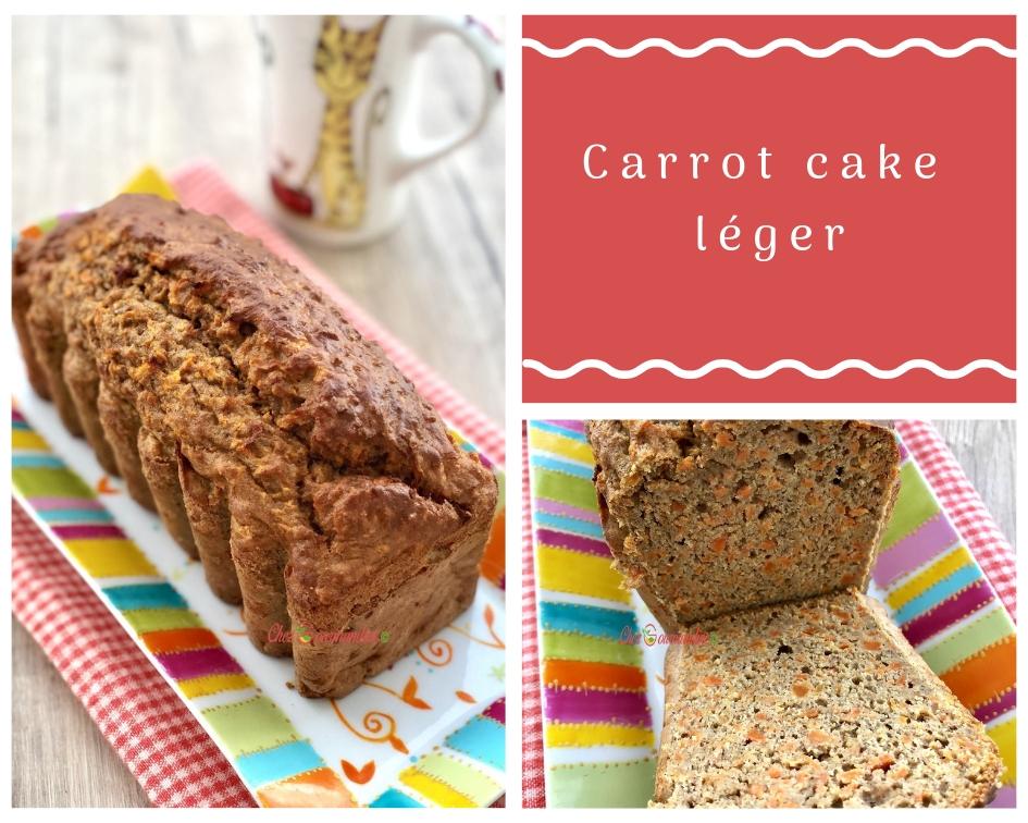 Carrot cake léger ww