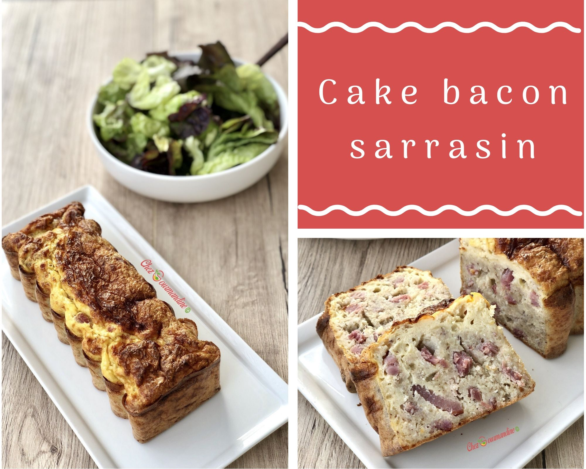 Cake bacon sarrasin