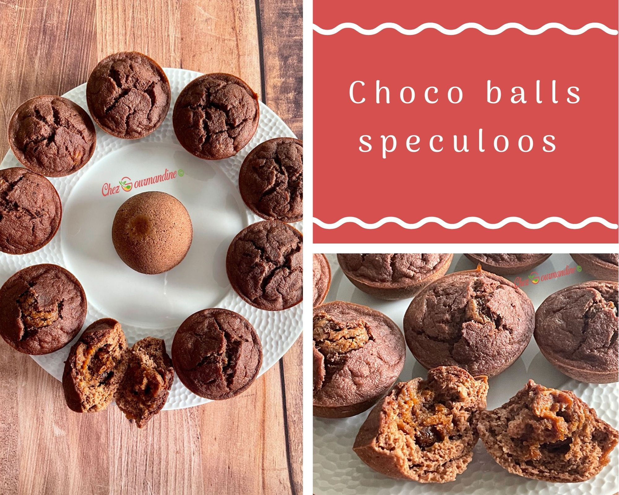 Choco balls speculoos