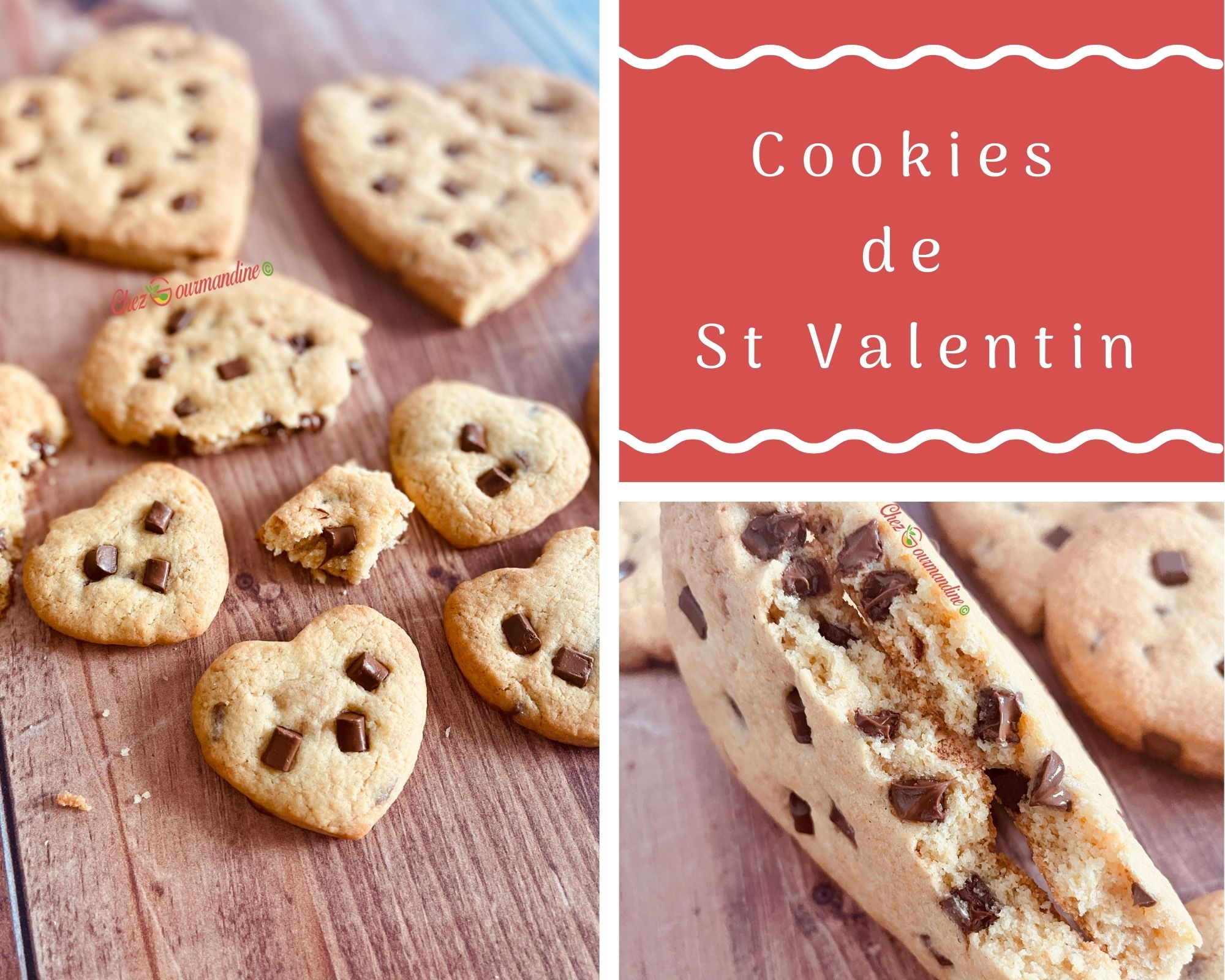 Cookies de la St Valentin